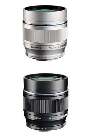 OLYMPUS M.ZUIKO DIGITAL ED75mmF1.8(シルバー/ブラック)『即納〜3営業日後の発送』大口径単焦点望遠レンズ。ポートレート撮影などに最適!【smtb-TK】【RCP】[fs04gm][02P05Nov16]