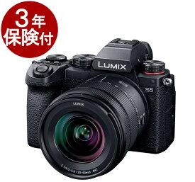 【キャッシュバック対象】[3年保険付] Panasonic LUMIX S5 レンズキット DC-S5K-K LUMIX S5ボディー + S20-60mm F3.5-5.6(S-R2060)標準ズームレンズ [02P05Nov16]