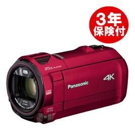 Panasonic HC-VX992M-R アーバンレッド デジタル4Kビデオカメラ (HC-VZX992M同等商品) [02P05Nov16]