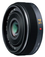 PanasonicLUMIXG14mm/F2.5ASPH.パンケーキレンズ『3-4営業日後の発送』[35mm判換算で28mmの広角小型パンケーキレンズ]