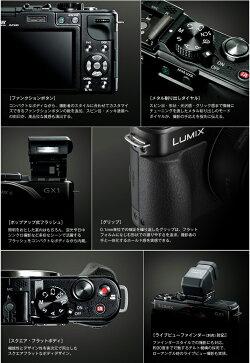 PanasonicLUMIXGX1ダブルレンズキットDMC-GX1W