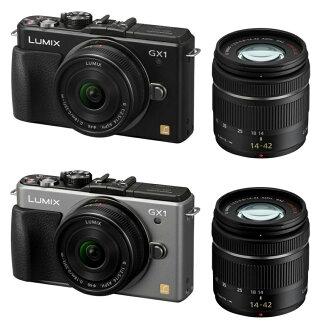 Panasonic LUMIX GX1 더블 렌즈 키트 DMC-GX1W-S 실버 대응 [02P01Oct16]