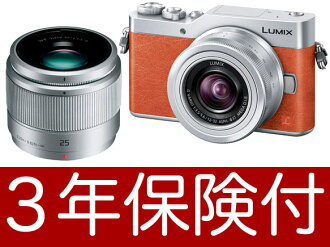 "Tilt-type monitor that Panasonic LUMIX GF9W orange double lens kit is going to release it on January 19, 2017"", and ""it is available for 4K selfie [with a liquid crystalline protection film] and [space perception AF] [Leopold Monod chrome]-based mirror r"