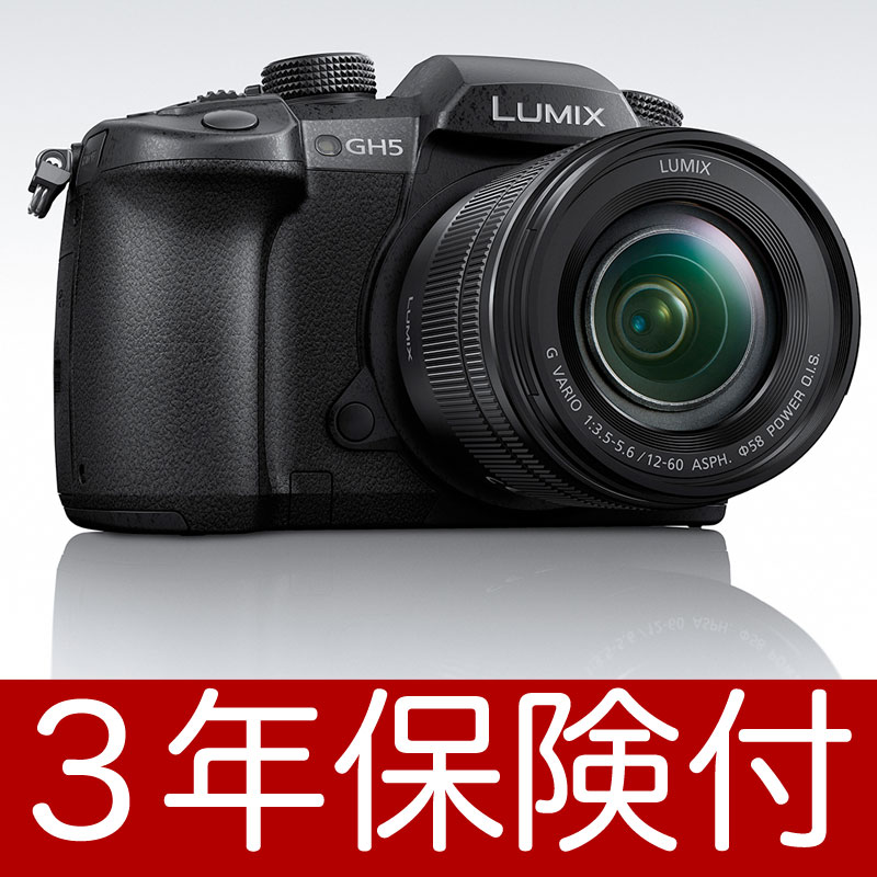[3年保険付]Panasonic LUMIX GH5M レンズキット DC-GH5M『1〜3営業日後の発送』DC-GH5 Body + LUMIX G VARIO 12-60mm / F3.5-5.6 ASPH./POWER O.I.S.(H-FS12060)【smtb-TK】[02P05Nov16]【コンビニ受取対応商品】