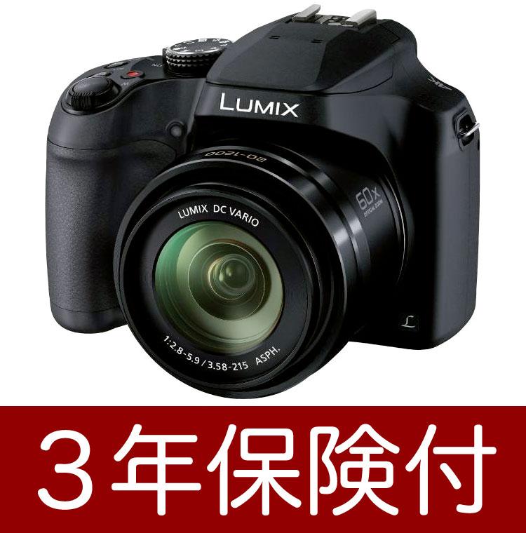 [3年保険付]パナソニック LUMIX DMC-FZ85-K 高倍率ズームデジカメ[02P05Nov16]