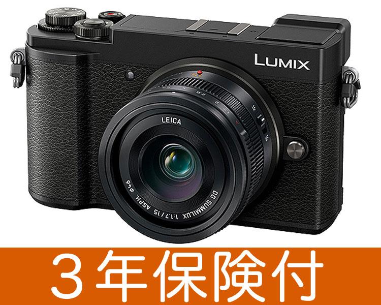[3年保険付] Panasonic LUMIX GX7 MarkIII ブラック単焦点ライカDGレンズキット DC-GX7MK3L-K『2018年6月下旬入荷予定』 [02P05Nov16]