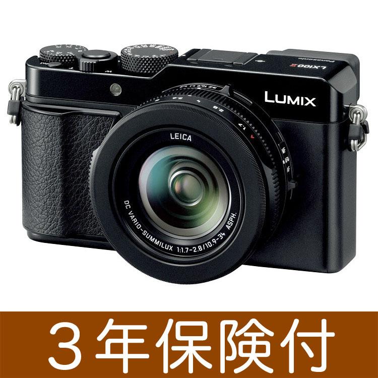 [3年保険付] パナソニック LUMIX LX100IIデジタルカメラ ブラック DC-LX100M2-K [02P05Nov16]
