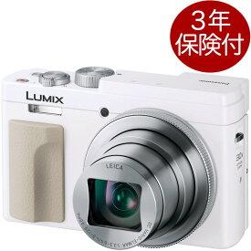 [3年保険付]Panasonic LUMIX DC-TZ95-W ホワイト 30倍ズームコンパクトデジタルカメラ[02P05Nov16]