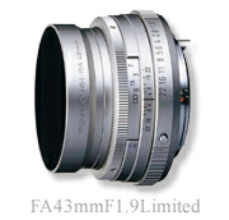"""PENTAX FA43mmF1.9 Limited Silver """"1 ~ 3 business days after shipping, fs3gm"""