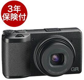 [3年保険付] RICOH GRIIIx 40mm相当単焦点レンズ付コンパクトデジカメ[02P05Nov16]