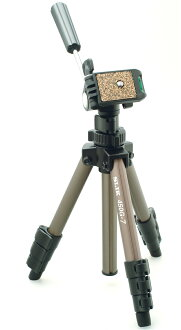 """SLIK compact series 450G-7 Titanium ultra lightweight 4-stage Tripod """"1 to 3 business days after shipping,"""