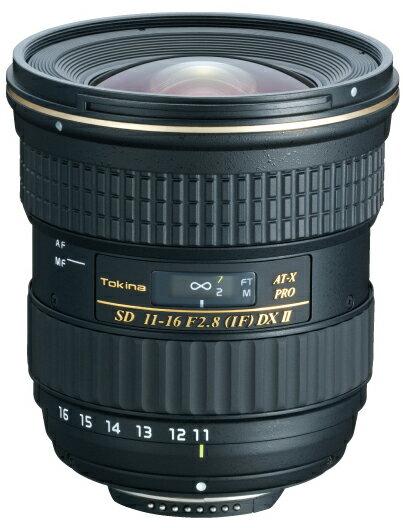 [3年保険付]トキナ AT-X116 PROII DX 11〜16mmF2.8『1〜3営業日後の発送』レンズ内モーター搭載APS-Cデジタル一眼レフ専用大口径広角ズームレンズ【RCP】[fs04gm][02P05Nov16]