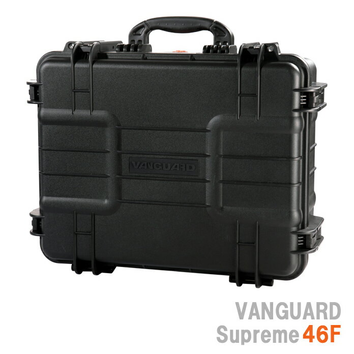 VANGUARD シュプリーム46F 防水ハードケース『2〜3営業日後の発送』[最大で120kgの重さに耐えられる強度と優れた耐久性、水深5mまで耐える事のできる防水性と機密性を備えたハードケース。アウトドアに機材を持ち運ぶ際に活躍するケース。]【smtb-TK】[02P24Jan13]
