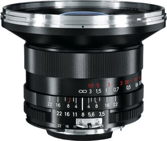 """Nikon F mount D studio Gon 18mm """"shipment fs3gm which CarlZeiss DistagonT*F3.5/18mm ZF horizontal angle of view 90 degrees can photograph after the 1~3 business day"""""""