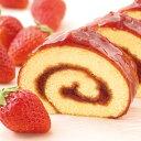 よいとまけ いちご (1本入) 半世紀以上の歴史を持つ 北海道 銘菓「よいとまけ」の姉妹品がついに登場! ロールケーキ 好きな方にもおすすめ♪