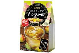 日東紅茶 はちみつ仕立て まろやか梅 【国産粉末梅果汁 クエン酸】