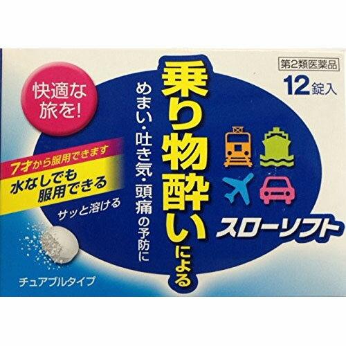 【第2類医薬品】スローソフト 12錠 伊丹製薬