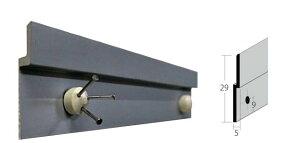 水平器付ハンガーレール 140mm 2穴 石膏ボードピースネジ(No.1885)1個