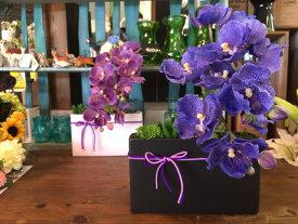 【敬老の日】「造花とアーティフィシャルフラワー多肉植物の寄せ植え」