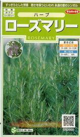 【予約販売 7月以降発送開始】ハーブ種ローズマリー(0.2ml)