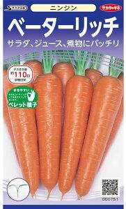 ニンジン種ベーターリッチ(ペレット種子) 350粒にんじん 人参