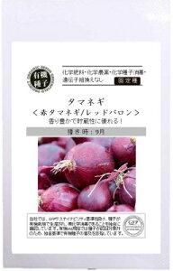 【有機栽培の種】タマネギ / 赤タマネギ / レッドバロン (1.0g) [栽培用 種子 根菜 玉葱]