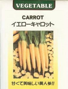 ニンジン種世界の野菜種 イエローキャロット(0.1ml)にんじん 人参
