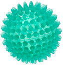 【予約受注商品】ギムニクリフレックスボール(ハードタイプ)8cm【写真左中グリーン】、触覚ボール