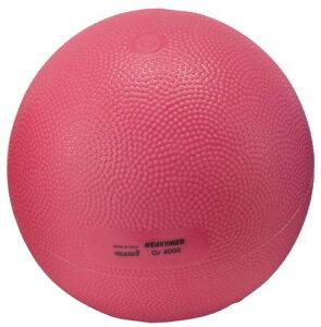 ギムニクヘビーメディシンボール(ピンク)4kg
