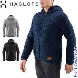 ホグロフス ( Haglofs ) パイル フード メンズ [ 604137 ] 秋冬 ウェア アウトドア パーカー