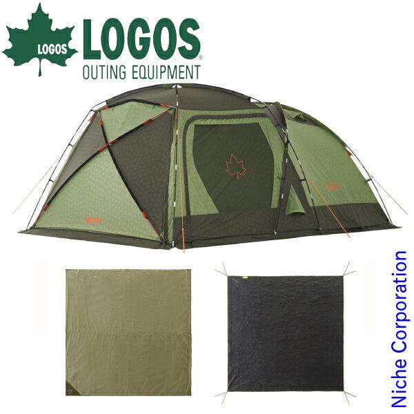 ロゴス PANELスクリーンドゥーブルXLチャレンジセット 71809550 キャンプ用品 テント タープ