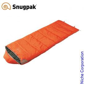 スナグパック スリーパーエクスペディション スクエア ライトジップ オレンジ SP95204OR アウトドア シュラフ キャンプ 寝袋 Snugpak
