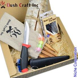 Bush Craft ( ブッシュクラフト ) スターティングセット 火おこしセット ルーキーナイフあり 20493 アウトドア 火おこし nocu