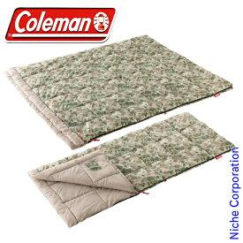 コールマン ストンプ パフォーマーIII/C10 ナチュラルカモ 2000035288 キャンプ用品 来客用 布団セット 新生活 寝袋