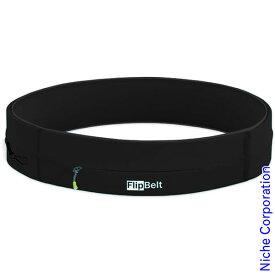 Flip Belt(フリップベルト) スポーツウエストポーチ ジッパー ブラック(BLACK) FZB-L