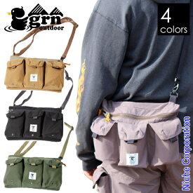 grn outdoor TEBURA BAG WANCAN GO9414Q ジーアールエヌアウトドア 手ぶら バッグ 缶 ホルダー