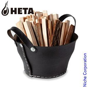 ヒタ ( HETA ) ウッドバスケット 35cm [ 35352 ] ログキャリー 収納 薪 薪ストーブ アクセサリー 暖炉