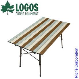ロゴス Life オートレッグテーブル 12070 (ヴィンテージ) 73185010 キャンプ用品