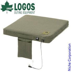 ロゴス ヒートユニット クッションシート 秋冬 座布団 USB 84200030 キャンプ用品