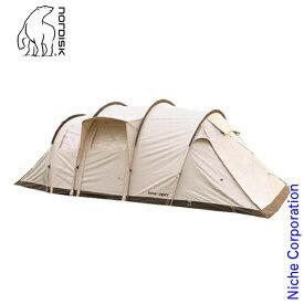 ノルディスク レイサ 6 レガシー Reisa 6 Legacy キャンプ テント 4人 142025