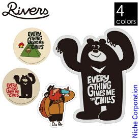 RIVERS ( リバーズ ) それがいい ステッカー シール UV 耐水