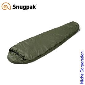 スナグパック ソフティー エリート3 レフトジップ オリーブ SP20134OL アウトドア シュラフ キャンプ 寝袋 Snugpak