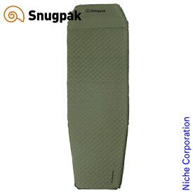 スナグパック XLセルフインフレーティングマット ピロー内蔵式 オリーブ SP91794OL アウトドア マット キャンプ Snugpak