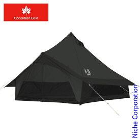 カナディアンイースト グロッケ12 CETO1004-BLK テント 5人用 6人用 キャンプ用品
