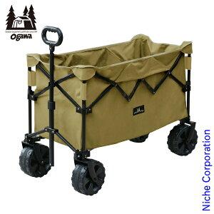 オガワキャンパル(ogawa) ディープキャリーワゴン 1385 折り畳み キャリーカート キャンプ用品