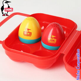 チャムス ブービー エッグ ソルト&ぺッパー CH62-1456-0000-00 卵 スパイス ケース キャンプ用品