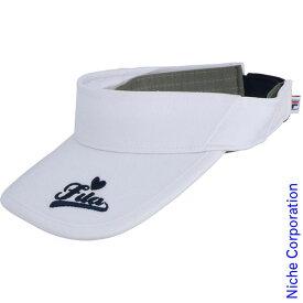 【300円OFFクーポン配信中】FILA(フィラ) ウィメンズ サンバイザー VL9195 スポーツ テニス キャップ 帽子