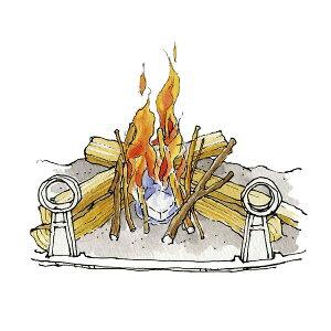 ファイヤースターター ドラゴン着火剤 ( 1パック ) [ 630540 ] 着火剤 着火 着火材 点火 薪 薪ストーブ アクセサリー 暖炉 ファイヤーサイド
