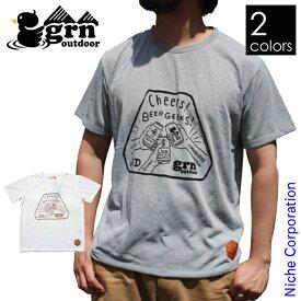 grn outdoor BEER GEEKS ショートスリーブTシャツ JRDGO-089G