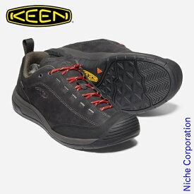 キーン ジャスパー ツー ウォータープルーフ メンズ ブラックxレイヴン 1023868 防水スニーカー 靴